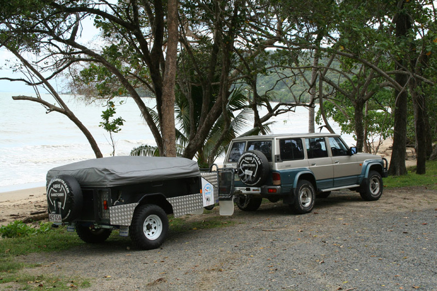 Model 12 DAY OFF ROAD Camper Trailer HIRE RENTALCAIRNS To CAPE YORK QLD